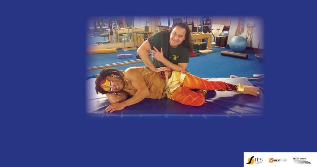 Un operatore Shiatsu Anma al Cirque-du-Soleil